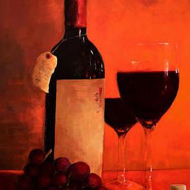 Patricia Awapara - Wine Bottle
