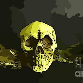 John Malone - Winged Skull