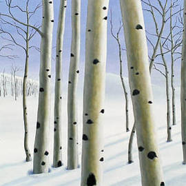 Douglas Case - Winter Aspen