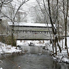 Bill Cannon - Winter at Valley Forge - Knox Covered Bridge