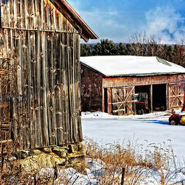 Mike Martin - Winter at Western Massachusetts Farm