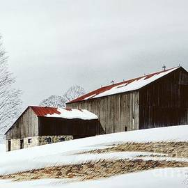 Michael Swanson - Winter Barn