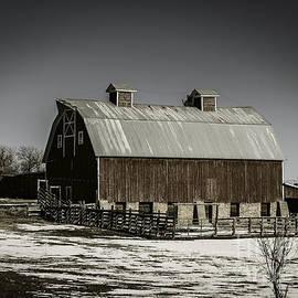 Janice Rae Pariza - Winter Barn Scape
