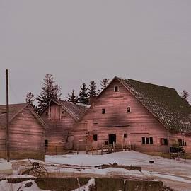 Bonfire Photography - Winter Barns