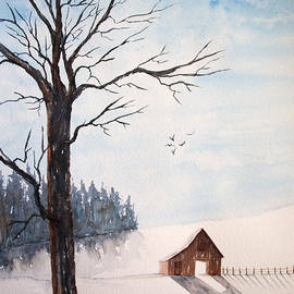 Rebecca Davis - Winter Blue Skies