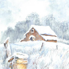 Carol Wisniewski - Winter Down On The Farm