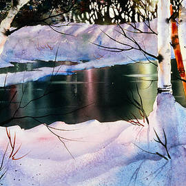 Teresa Ascone - Winter Forest Reflections