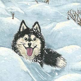 Sherry Goeben - Winter Games -- Husky Style