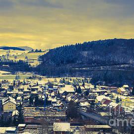 Maria Bobrova - winter in Hornussen 2