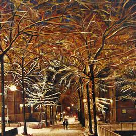 Valentina Henao - Winter in New York