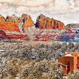 Bob and Nadine Johnston - Winter in Sedona Arizona 2