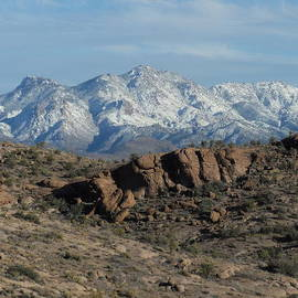 James Welch - Winter In The  Mohave Desert