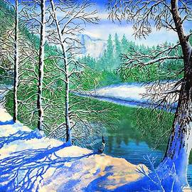 Douglas Castleman - Winter in Yosemite
