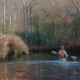 Christopher Reid - Winter Kayaker