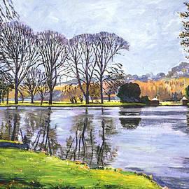 David Lloyd Glover - Winter Lakeshore