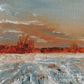 Cindy Roesinger - Winter on Aunt Molly Road