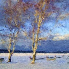 Rein Nomm - Winter on Kent Lake