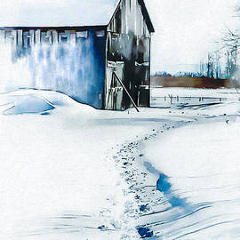 Nancy RC Hebert - Winter on the farm