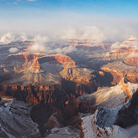 Adam Schallau - Winter Panorama of the Grand Canyon