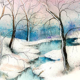 Anna Sandhu Ray - Winter Ponds