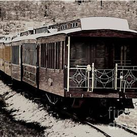 Janice Rae Pariza - Winter Railway