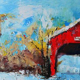 Patricia Awapara - Winter Scene Landscape
