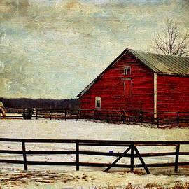 Pamela Phelps - Winter Season Barn