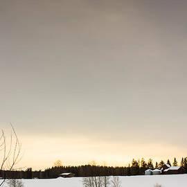Jukka Heinovirta - Winter Sky Over The Fields 1