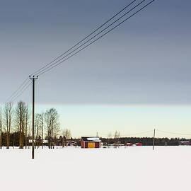 Jukka Heinovirta - Winter Sky Over The Fields 2