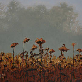 Michael King - Winter Sunflowers
