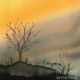 Addie Hocynec - Winter Sunset