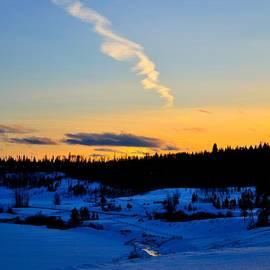 Phil Dionne - Winter Sunset Nichola Valley