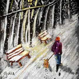 Lawrence Golla - Winter Walk