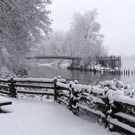 Ian Mcadie - Winter Waterside