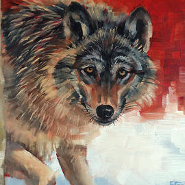 Margaret Stockdale - Winter Wolf