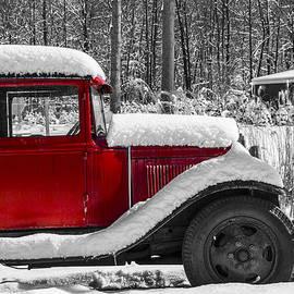 Karol Livote - Winters Red Truck