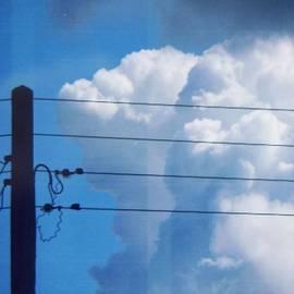 Deimantas Strolia - #wires #clouds #electricity #cloudsporn