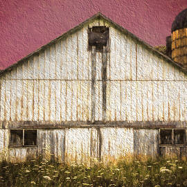 Kathleen Scanlan - Wisconsin White Barn Textured