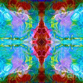 Omaste Witkowski - Wisdome and Mystery Abstract Pattern Artwork by Omaste Witkowski
