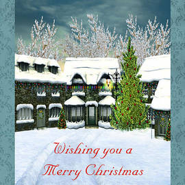 Vickie Emms - Wishing You A Merry Christmas Filled With Special Moments Card