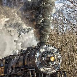 Jeannette Hunt - WMSR Engine 734