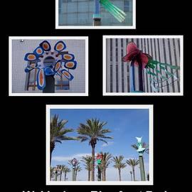 Kathy K McClellan - Woldenberg Riverfront Park Sculptures One
