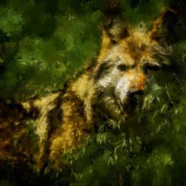 Ernie Echols - Wolf Abstract