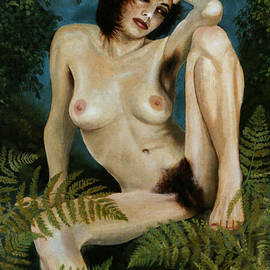 Jo King - Woman And Ferns