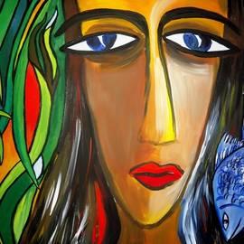 Shakhenabat Kasana - Woman and Nature