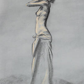Asha Carolyn Young - Woman Balancing a Bag on Her Shoulder