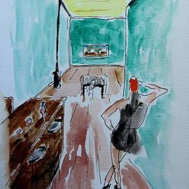 Gary Kirkpatrick - Woman in a Lonely Bar rev.