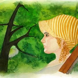 David Bartsch - Woman in Bonnet Kate Winslet