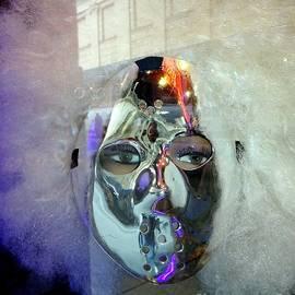 Ed Weidman - Woman In Silver Mask