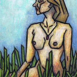 Kamil Swiatek - Woman in The Meadow